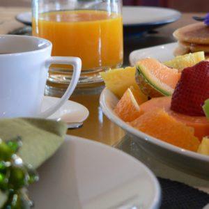 Breakfast at the Dune Beach House