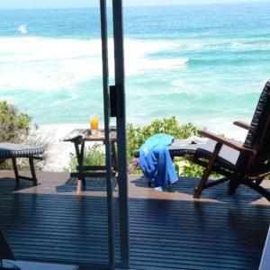 Sea facing bedrooms